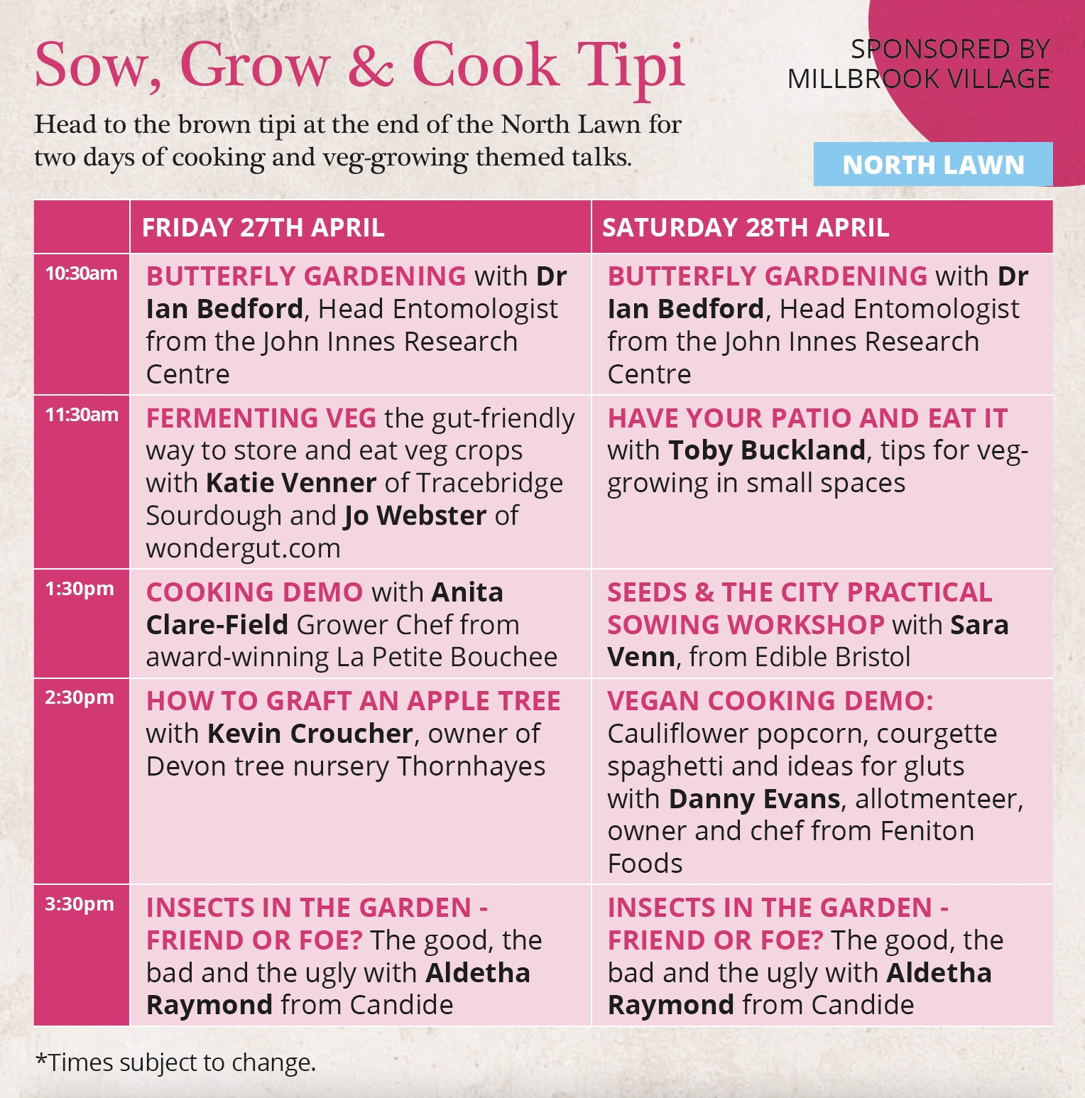 Sow Grow & Cook Tipi